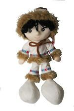 "CANADA INUIT GIRL 12"" Inch KICKIN'S KIDS TOY DOLL ..New"