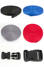 50m Gurtband PP Gurtband oder Steckschnallen 15mm bis 50mm PP Taschenband