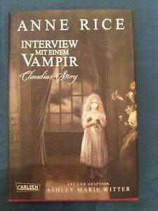 Interview mit einem Vampir-Claudias Story-Anne Rice-Comic- WIE NEU!