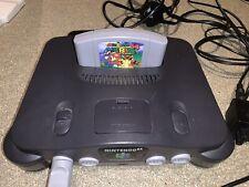 Nintendo 64 Console Boxed With Mario 64 Cart ( Faulty Reset Button)