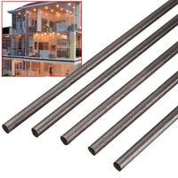 5pcs 5 mm Diameter x 500mm Carbon Fiber Rods For RC Airplane Matte Pole