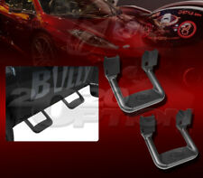PAIR BULLY BLACK TRUCK SUV SIDE STEP NERF BAR FOR FORD MERCURY DODGE RAM CHEVY