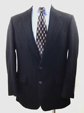 JACOBSON'S Men's 100% CAMEL HAIR 2 button Blazer Jacket Union Made in USA 44L