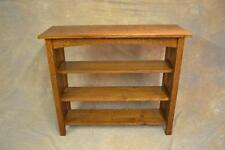 Large Size Mission Arts & Crafts Oak Bookcase - Custom Furniture Vermont Free S.