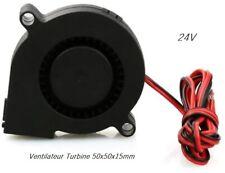Ventilateur a Turbine Imprimante 3D Extrudeuse 50x50x15mm ( 5015 ) 24V DC CNC