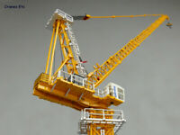New 1:100 XCMG XGTL180 Luffing Tower Crane Models, Collection, Tower Crane Toys