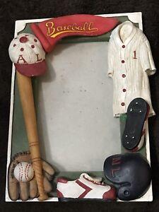 Baseball Vintage Photo Frame Sport Helmet Game Jersey Winner Bat Ball BX32