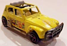 Majorette No.231 Made in France Ech 1:60 Citroen Dyane Rallye gelb jaune yellow
