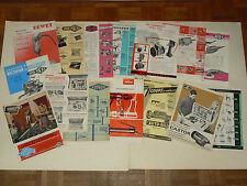 Lot 15 Prospectus Outil Pneumatique & Divers catalogue tool auto outillage