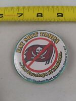 Vintage 1990's Green Bay Packers Eat Sh** Tampa pin button pinback **FF