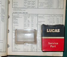 NOS Lucas Side & Flasher Lens 54571717. Model L662. 1964-66 Hillman Husky... \