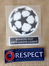 Set Of Winners 2017 UEFA EUROPA League Respect Patch Badge For Manchester United