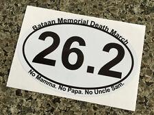 6 - Bataan Memorial Marathon Death March Sticker
