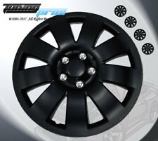 "Matte Black Style 721 16 Inches Hubcap Wheel Cover Rim Skin Covers 16"" Inch 4pcs"