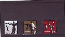 NETHERLANDS - SG988-990 MNH 1965 RESISTANCE COMMEMORATION