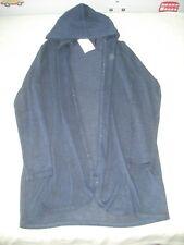 BNWT H&M girls navy blue sparkle wrap fine knit cardigan 8-10 years