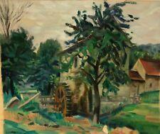 Moulin de Puylivat attribué à François Henri Faureau (1901-1997) c 1940 Creuse