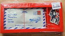 "Genuine Red or Dead ""Airmail Letter"" Make up bag and key ring gift set BOXED"
