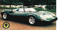 1966 JAGUAR XJ13/XJ-13 SPEC SHEET/ Brochure/ Catalog