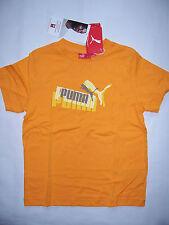 TEE SHIRT enfant PUMA neuf manches courtes taille 8 ans coloris orange