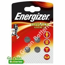 4 x Energizer LR44 1.5V Alkaline Button Cell Batteries LR 44 A76 AG13 357 PX76A