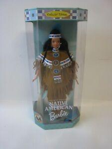 1997 Mattel Barbie Dolls of the World Native American 18558 NRFB #PC302