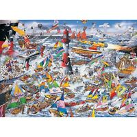 Gibsons - 1000 PIECE JIGSAW PUZZLE - I Love Boats