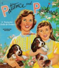 Vintage Uncut 1957 Patience & Prudence Paper Dolls~#1 Reproduction~Nostalgic
