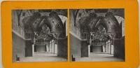Roma Vaticano Sala Ducale Italia Foto Stereo Vintage Analogica c1900
