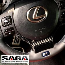 Lexus IS RC NX CT 2014~ON Real CARBON FIBER Steering Wheel Trim Cap