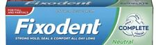 2  X Fixodent Cream Complete Strong Hold Adhesive Denture Cream Neutral 47g