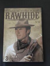 COLLECTION RAWHIDE ... DVD N°12 ( épisodes 34 à 36 ) ... CLINT EASTWOOD