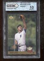 Derek Jeter RC 1993 Upper Deck #449 New York Yankee HOF Rookie GEM MINT 10