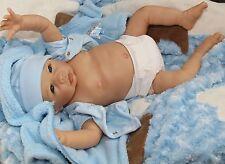 """""""DOG-GONE CUTE!"""" Lifelike Collectible 20 Inch Newborn Baby Boy Doll"""