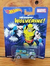 Hot Wheels 2015 Pop Culture Marvel Wolverine Double Demon Delivery (A+/C)
