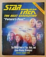 Star Trek: The Next Generation Future's Past SNES strategy guide (Brady Games)