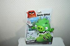 FIGURINE ANGRY BIRD THE PIG  PARLANTE TRICKY  TALKING  FIGURE NEUF ROVIO