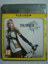 Final Fantasy XIII-Platinum (Sony PlayStation 3, 2010) - PAL