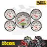 Auto Meter Arctic White 5-Piece Gauge Kit w/ Metric Electric Speedo - AU1302-M