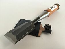 Kakuri Carpentry Chisel Oire Nomi Blade 30mm with Leather Sack Made in Japan
