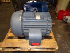 Baldor 75 Hp Ac Electric Motor 365ts Frame 1 78 Shaft 230460 Vac 3550 Rpm
