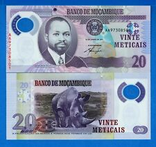 Mozambique P-149 20 Meticais Year 2011 Uncirculated Banknote