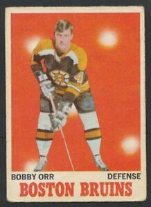 1970-71 OPC #3 Bobby Orr HOF Boston Bruins  O-Pee-Chee NHL Hockey Card
