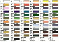 50  VALLEJO GAME COLOR ACRYLIC PAINTS CHOOSE ANY 50 COLOURS + FREE 3 BRUSHES