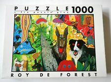 COUNTRY DOG GENTLEMEN ROY DE FOREST 1000 Piece Jigsaw Puzzle FINK 26.75 X 19