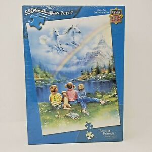 Master Pieces Jigsaw Puzzle Fantasy Friends 550 Piece NEW