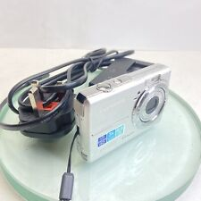 Olympus FE FE-190 6.0MP Digital Camera - Silver TESTED with charger #997