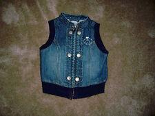 Girls Gymboree Denim Vest Size 3