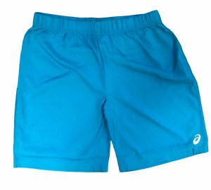 Asics Men's Running Shorts 11 Inch Sports Shorts - Light Blue - New