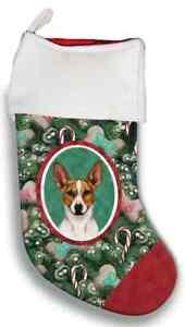 Rat Terrier Christmas Stocking